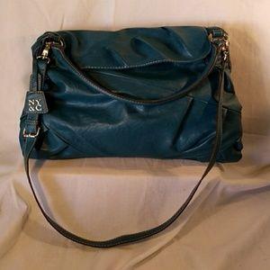 New York & Co. Turquoise Shoulder Bag